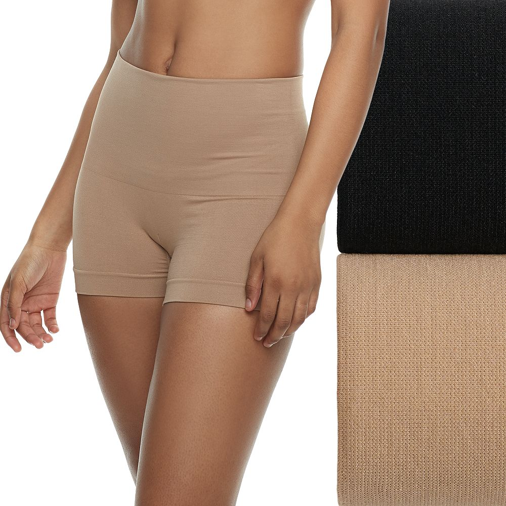 Women's Lunaire 2-Pack Seamless Shaping High Waist Boy Shorts 3412KP