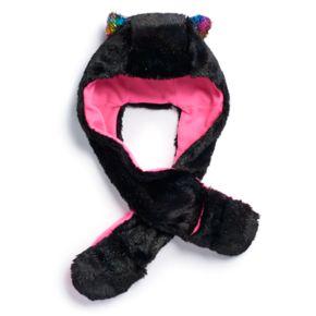 Girls 4-16 SO® Faux-Fur Hat Hood