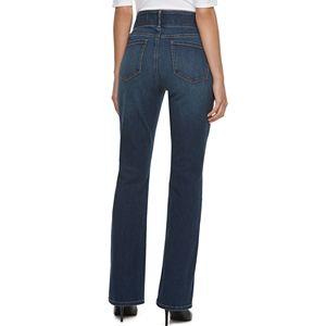 Women's Apt. 9® Tummy Control Midrise Bootcut Jeans