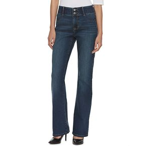Women's Apt. 9® Tummy Control Midrise Bootcut Jeans