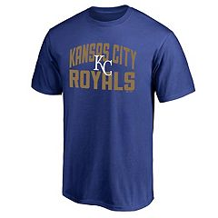 Men's Majestic Kansas City Royals Number One Tee