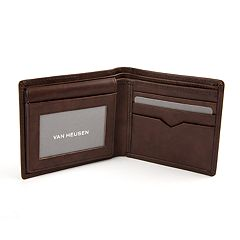 Men's Van Heusen Sandalwood RFID-Blocking Leather Passcase Wallet