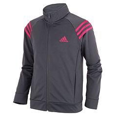 Girls 7-16 adidas Mock Neck Colorblocked Track Jacket