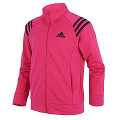 Girls 7-16 adidas Mock Neck Colorblocked Track Jacket