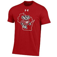 Boys 8-20 Under Armour Wisconsin Badgers Youth Live Tee