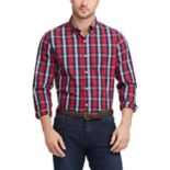 Men's Chaps Regular-Fit Stretch Easy-Care Button-Down Shirt