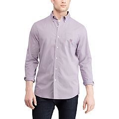 Men's Chaps Slim-Fit Stretch Easy-Care Button-Down Shirt