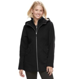 Women's d.e.t.a.i.l.s Hooded Bib Inset Jacket