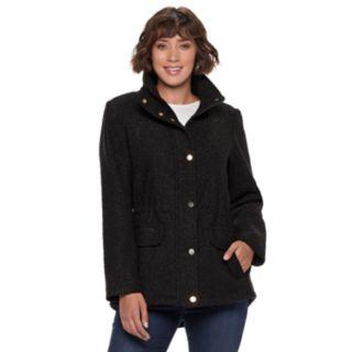 Women's d.e.t.a.i.l.s Faux-Fur Hooded Anorak Jacket