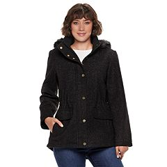 Women's d.e.t.a.i.l.s Faux-Fur Hooded Anorak Jacket