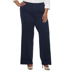 Plus Size Dana Buchman Jacquard Pants