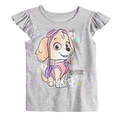 Toddler Girl Jumping Beans® Paw Patrol Skye 'Let the Adventure Begin' Flutter Tank