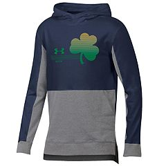 Boys 8-20 Under Armour Notre Dame Fighting Irish Charged Cotton Hoodie