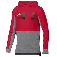 Boys 8-20 Under Armour Utah Utes Charged Cotton Hoodie