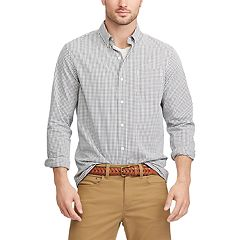 Men's Chaps Regular-Fit Easy-Care Stretch Button-Down Shirt