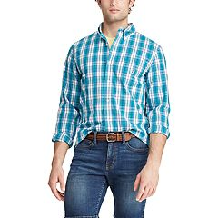 79d2a62a Chaps Button-Down Shirts Long Sleeve Tops, Clothing | Kohl's
