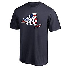Men's Majestic New York Yankees American Flag State Tee