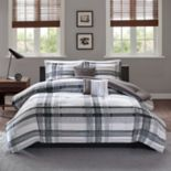 Intelligent Design Jax Plaid Comforter Set