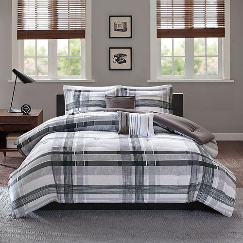 Intelligent Design Jax Plaid Comforter Set