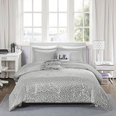 Intelligent Design Liv Metallic Comforter Set
