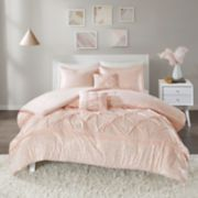 Intelligent Design Everly Metallic Comforter Set