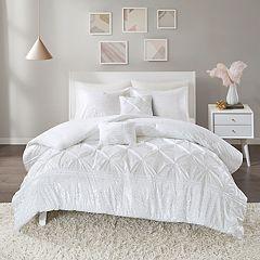 Intelligent Design Everly Metallic Comforter Set