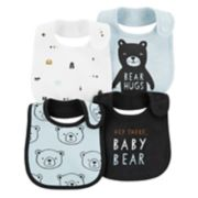 Baby Boy Carter's 4-Pack Print & Graphic Bibs