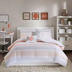 Intelligent Design Lou Printed Reversible Comforter Set