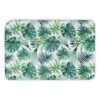 KHL Rugs Rainforest Transitional Palm Printed Comfort Mat