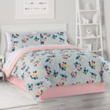 The Big One® Gray Grounded Floral Bedding Set