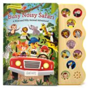 Busy Noisy Safari Book