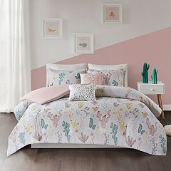Urban Habitat Kids Cacti Cotton Printed Duvet Cover Set