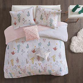 Urban Habitat Kids Cacti Cotton Printed Duvet Cover Set