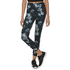 Juniors' SO® Floral Yoga Ankle Leggings