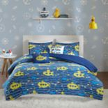 Urban Habitat Kids Marina Cotton Printed Duvet Cover Set