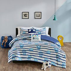 Urban Habitat Kids Boo Cotton Printed Duvet Cover Set