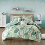 Urban Habitat Kids Jungle Animal Cotton Printed Duvet Cover Set