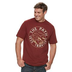 Big & Tall SONOMA Goods for Life™ 'The Path Less Traveled' Graphic Tee