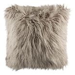 Safavieh Faux Flokati Shag Throw Pillow