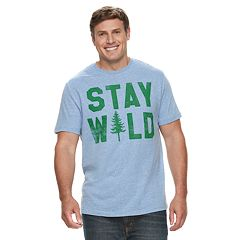 Big & Tall SONOMA Goods for Life™ 'Stay Wild' Graphic Tee