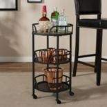 Baxton Studio Bristol Bar Cart