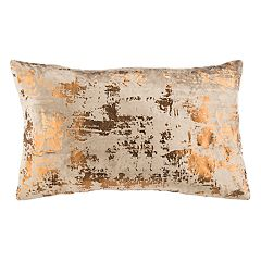 Safavieh Edmee Metallic Oblong Throw Pillow