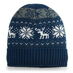 Men's Urban Pipeline™ Fairisle Sherpa-Lined Beanie