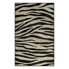 Brumlow Mills Zebra Stripes Animal Printed Rug