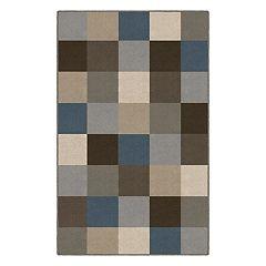 Brumlow Mills Color Blocks Contemporary Printed Rug