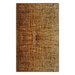Brumlow Mills Contemporary Linen Printed Rug