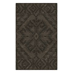 Brumlow Mills Telluride Distressed Tribal Printed Rug
