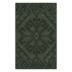 Brumlow Mills Telluride Distressed Tribal Printed Rug