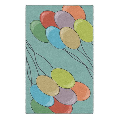 Brumlow Mills Colorful Baby Nursery Printed Rug