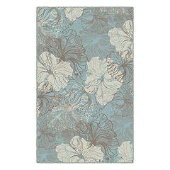 Brumlow Mills Grace Floral Printed Rug